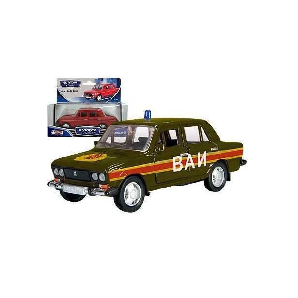 фото Модель автомобиля AUTOTIME LADA 2106. ВАИ СССР