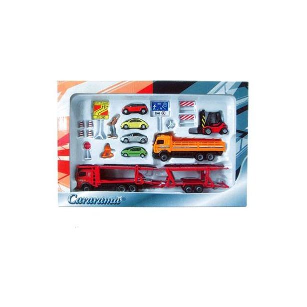 фото Набор игровой для мальчиков Cararama Car Carrier