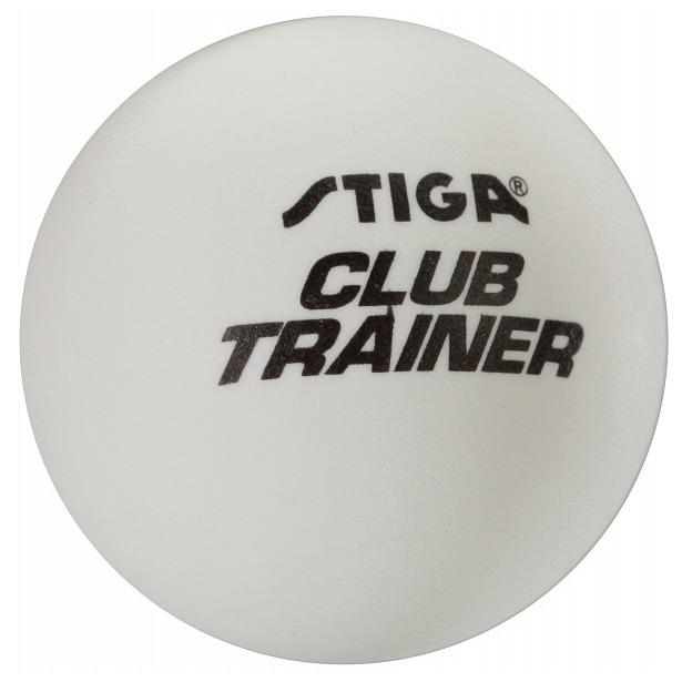 фото Мяч для настольного тенниса Stiga Club Trainer. Цвет: белый