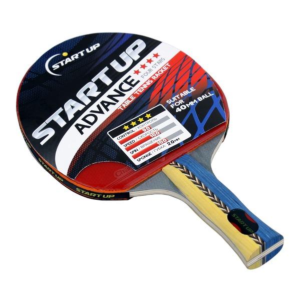 фото Ракетка для настольного тенниса Start Up Advance 4Star с анатомической ручкой