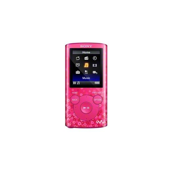 фото MP3-плеер SONY NWZ-E384. Цвет: розовый