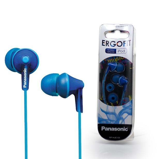 фото Наушники вставные Panasonic RP-HJE125. Цвет: синий