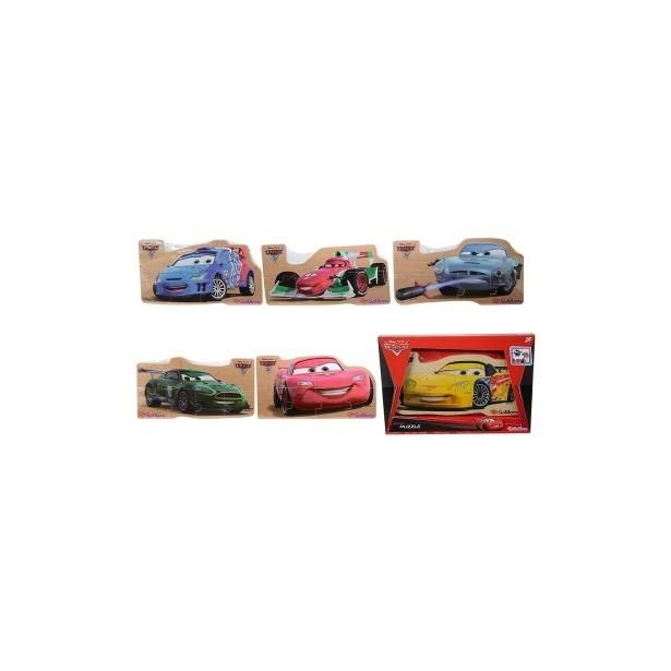 фото Пазл 8 элементов Eichhorn «тачки 2». В ассортименте