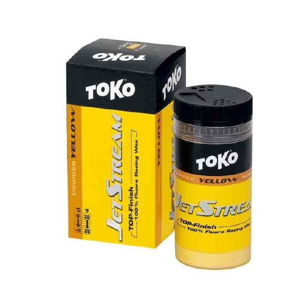 фото Порошок-ускоритель TOKO Jet Stream. Цвет: желтый