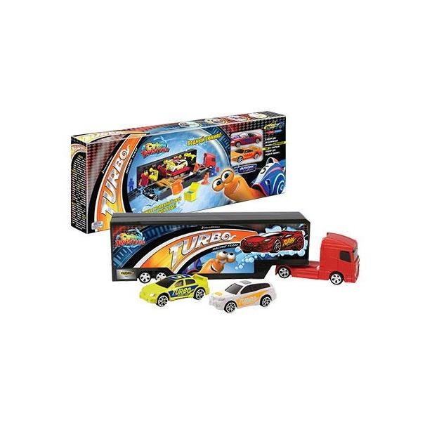 фото Набор игровой для мальчиков AUTOTIME Turbo Racing Team. Гоночный трейлер