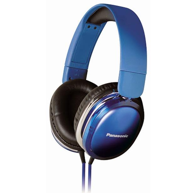 фото Гарнитура Panasonic RP-HX350ME. Цвет: черный, синий