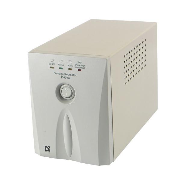 фото Стабилизатор напряжения DEFENDER AVR Real. Полная мощность: 1000 ВА. Активная мощность: 500 Вт