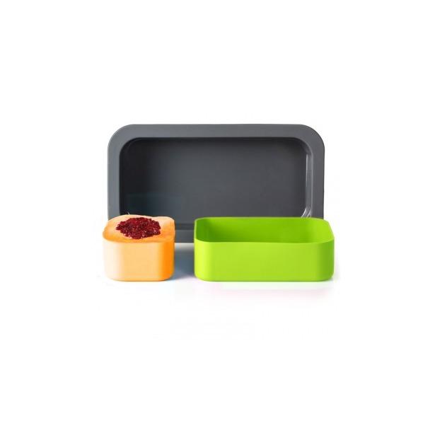 фото Форма для выпечки под ланч-бокс Monbento MB Original. Цвет: зеленый, оранжевый