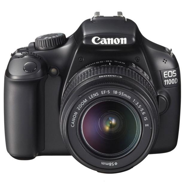 фото Фотокамера цифровая Canon EOS 1100D Kit EF-S 18-55mm DC