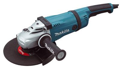 фото Машина шлифовальная угловая Makita GA9030SF01