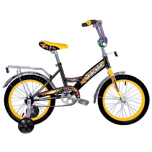 фото Велосипед Larsen Kids 16. Цвет: черный