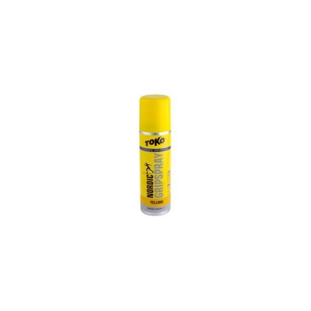 фото Спрей для лыж TOKO Nordic Grip Spray. Цвет: желтый. Температура применения: от 0 до -2 градусов