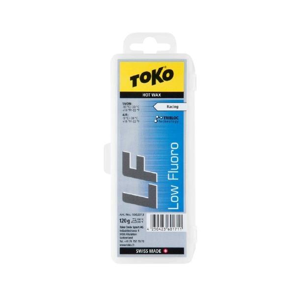 фото Парафин универсальный TOKO TRIBLOC LF. Цвет: синий. Вес без упаковки: 120 грамм