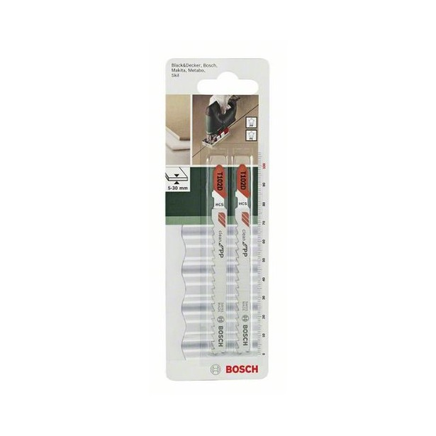 фото Набор пильных полотен Bosch T102D. Количество предметов: 2