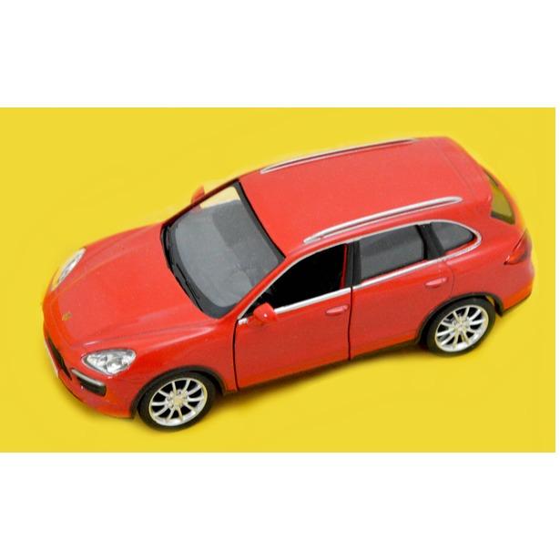 фото Модель автомобиля RMZ City Porsche Cayenne Turbo. В ассортименте. Масштаб: 1:32