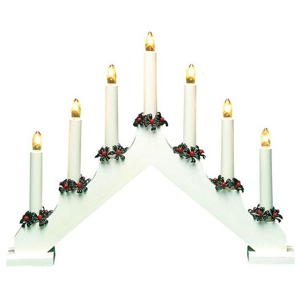 фото Горка рождественская Svetlitsa Рождество. Цвет: белый