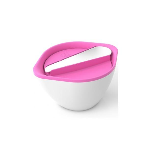 фото Термосупница с ложкой Monbento MB Lib. Цвет: белый, розовый