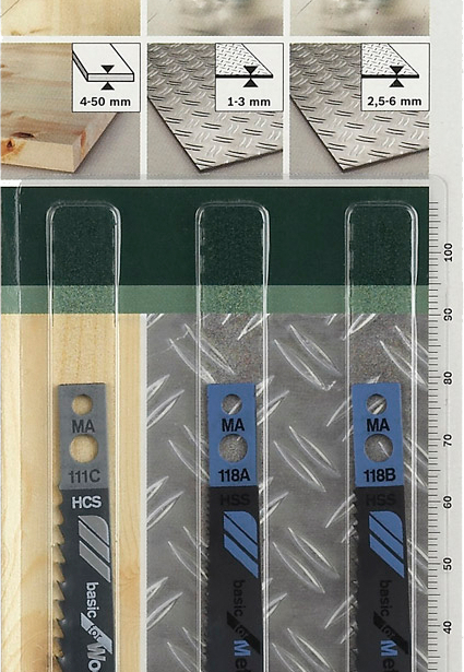 фото Набор пильных полотен Bosch SET MA-ХВ