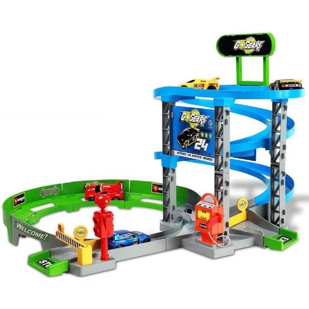 фото Игровой набор Bburago Паркинг с трассой
