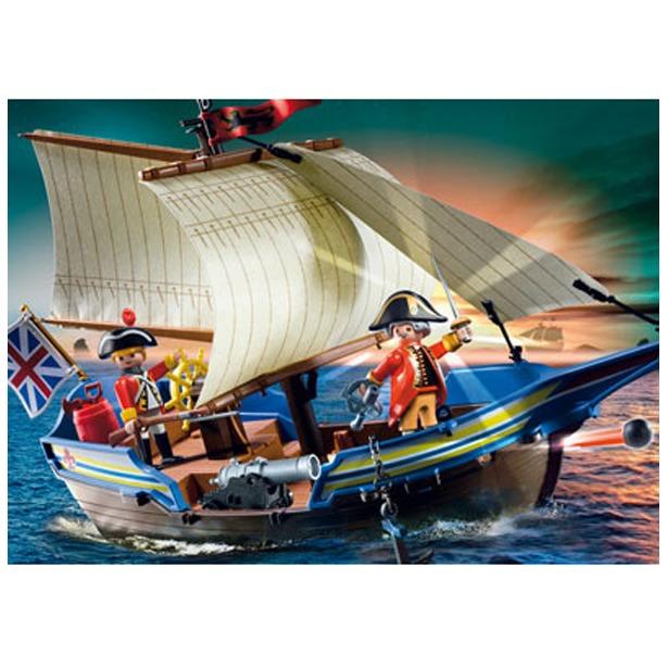 фото Корабль англичан Playmobil 5140pm
