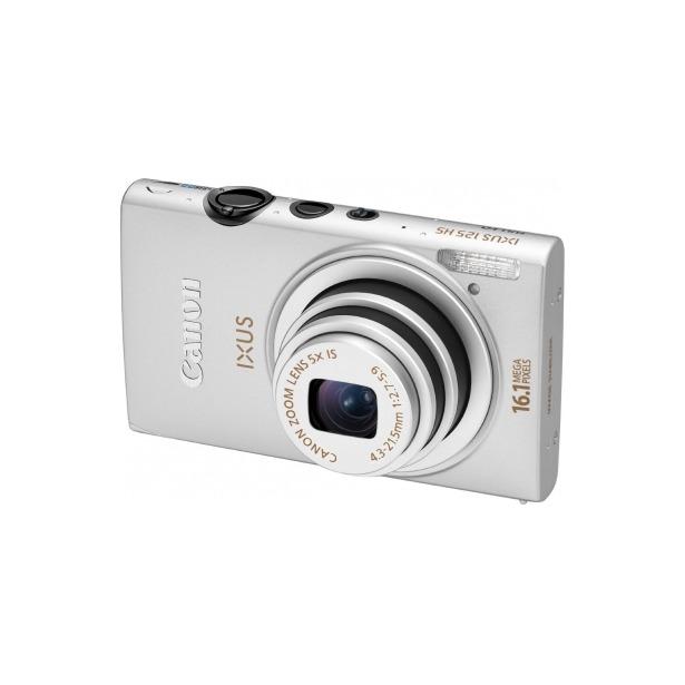 фото Фотокамера цифровая Canon IXUS 125 HS. Цвет: серебристый