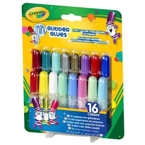 фото Клей с блестками Crayola «Mini glitter glues»