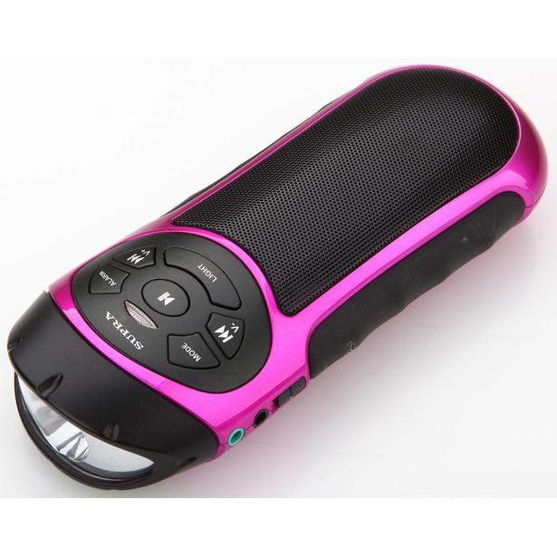 фото Портативная акустика Supra PAS-6277. Цвет: розовый