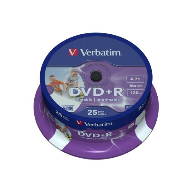 фото Набор DVD+R дисков Verbatim 43500