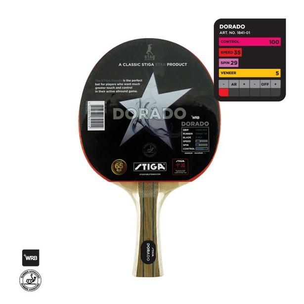 фото Ракетка для настольного тенниса Stiga Dorado WRB
