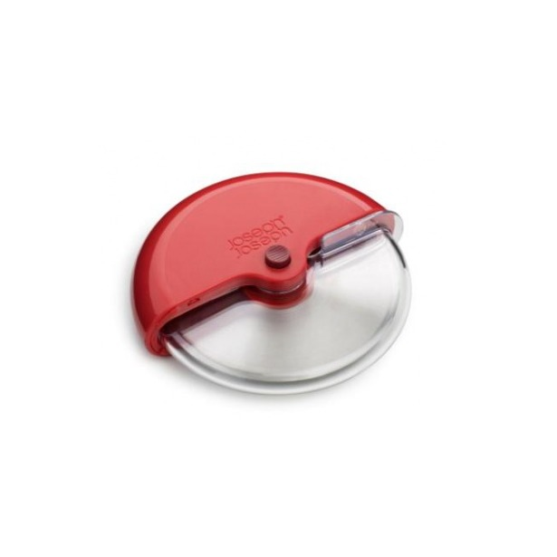фото Нож для пиццы Joseph Joseph Scoot. Цвет рукояти: красный