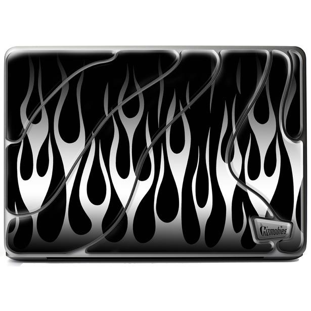 фото Наклейка 3D для ноутбука Gizmobies Metallic Flames