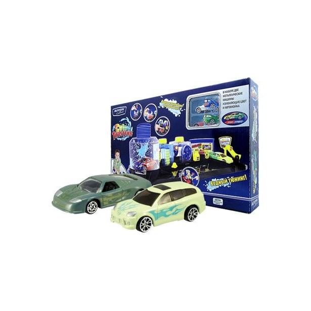 фото Модель автомобиля AUTOTIME Color Twisters Color Wash-2. С автомойкой