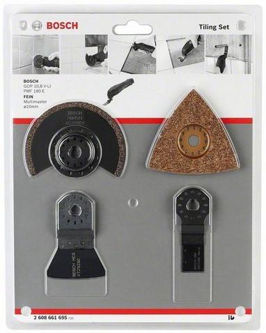 фото Набор насадок для универсального инструмента Bosch 2608661695