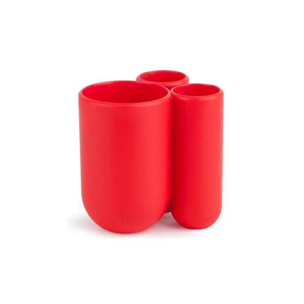 фото Подставка для зубных щеток Umbra Touch. Цвет: серо-голубой