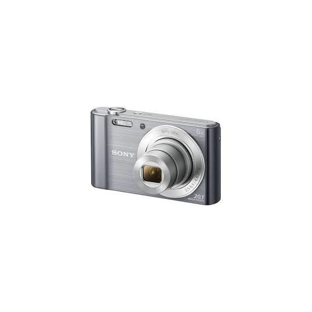фото Цифровой фотоаппарат SONY DSC-W810. Цвет: серебристый