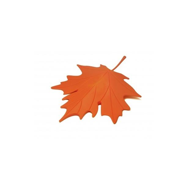 фото Подпорка для двери Qualy Autumn. Цвет: оранжевый