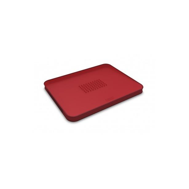 фото Доска разделочная двухсторонняя для мяса Joseph Joseph Cut&Carve Plus Small. Цвет: красный