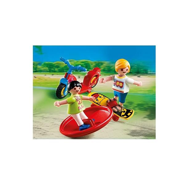 фото 2 ребенка со спортивным инвентарем Playmobil 4764pm