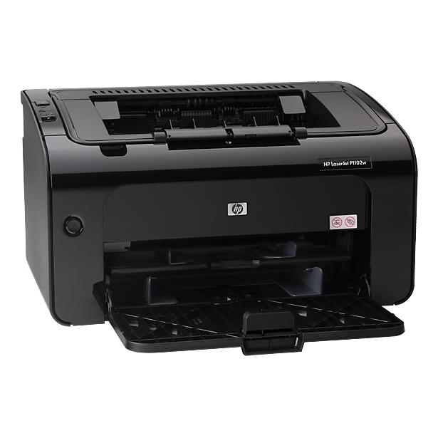 фото Принтер HP LaserJet Pro P1102w RU
