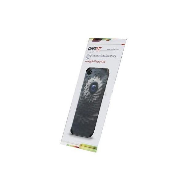 фото Голографическая наклейка для iPhone 4/4s Onext Gear