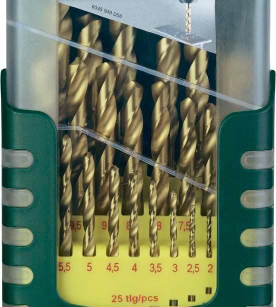 фото Набор сверл по металлу Bosch 2607017154