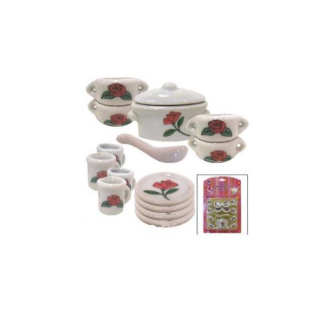 фото Набор посуды для детей МАРУСЯ Нам без супчика никак