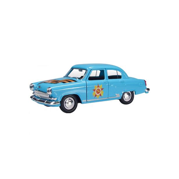 фото Модель автомобиля AUTOTIME ГАЗ-21 Волга «Спасибо за победу»