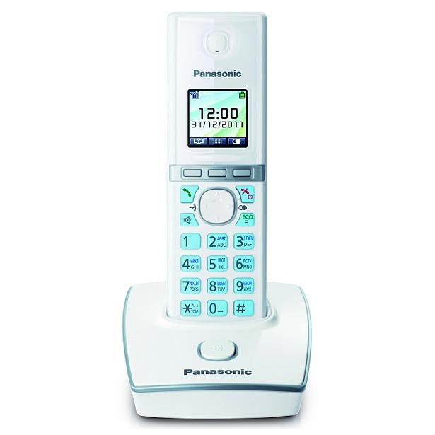 фото Радиотелефон Panasonic KX-TG8051. Цвет: белый