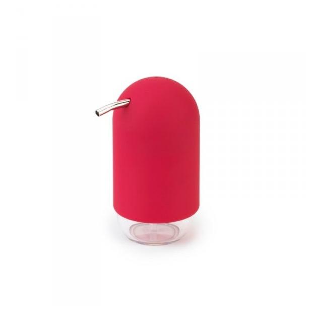 фото Диспенсер для мыла Umbra Touch. Цвет: малиновый