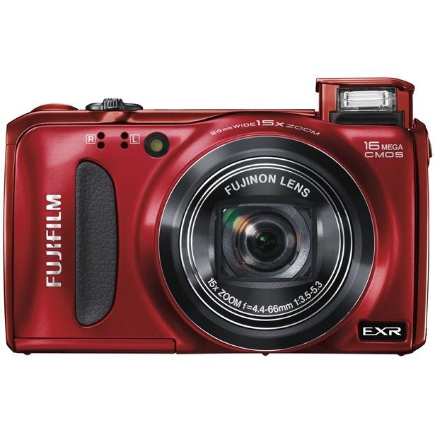фото Фотокамера цифровая Fujifilm FinePix F660EXR. Цвет: красный