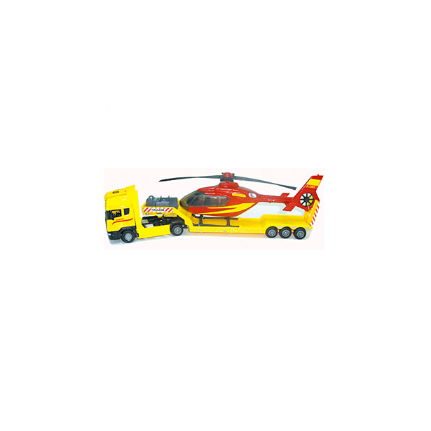 фото Модель автомобиля AUTOTIME Scania «С вертолетом». В ассортименте