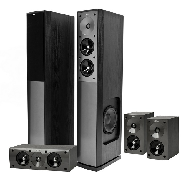 фото Комплект для акустики Jamo Jamo S606 HCS 3. Цвет: черный