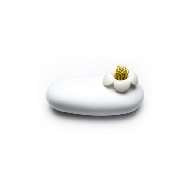 фото Пенал-шкатулка Qualy Blossom. Цвет: белый