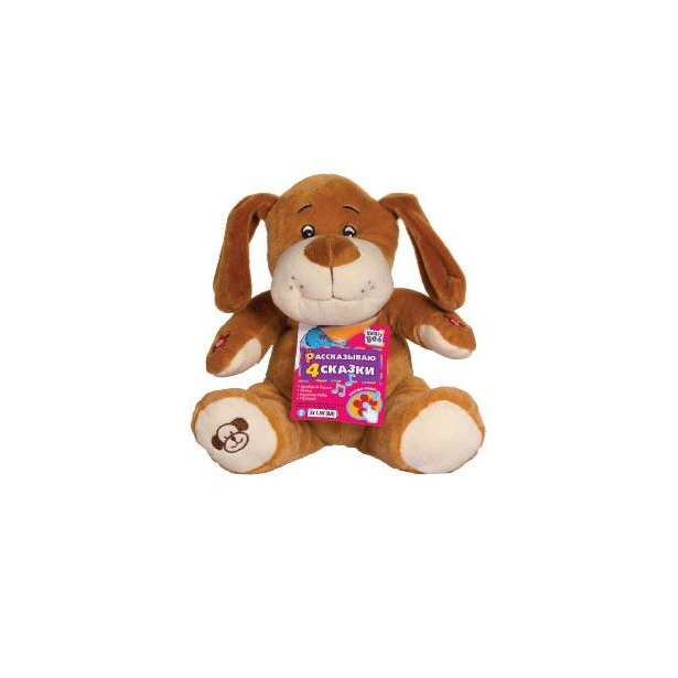 фото Мягкая игрушка интерактивная со сказками Kribly Boo Пес Дружок